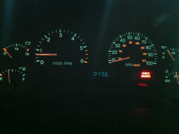 What Does It Mean When My Quot Check Gauges Quot Light Comes On