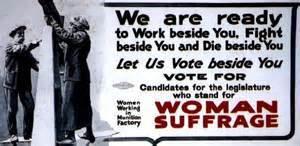 Women to vote