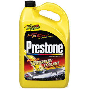 Prestone anti freeze