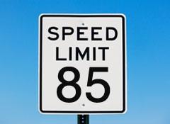 85 mph
