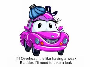 Windy weak bladder