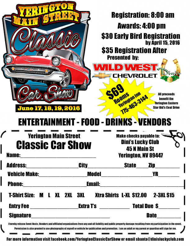 Yerington Main Street Car Show Teresas Garagecom - Any car shows near me