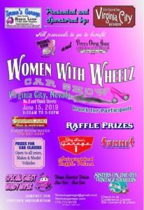 Women with Wheelz Car Show 2019